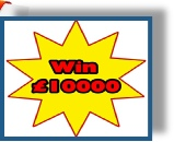 Win £10000, or more! Crack The Safe, Roll 6 sixes...